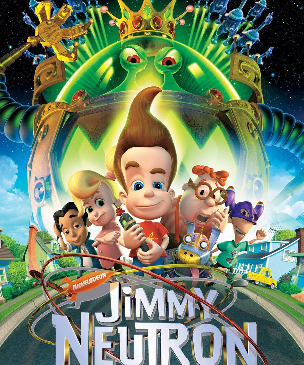 "Poster for the movie ""Jimmy Neutron: Boy Genius"""
