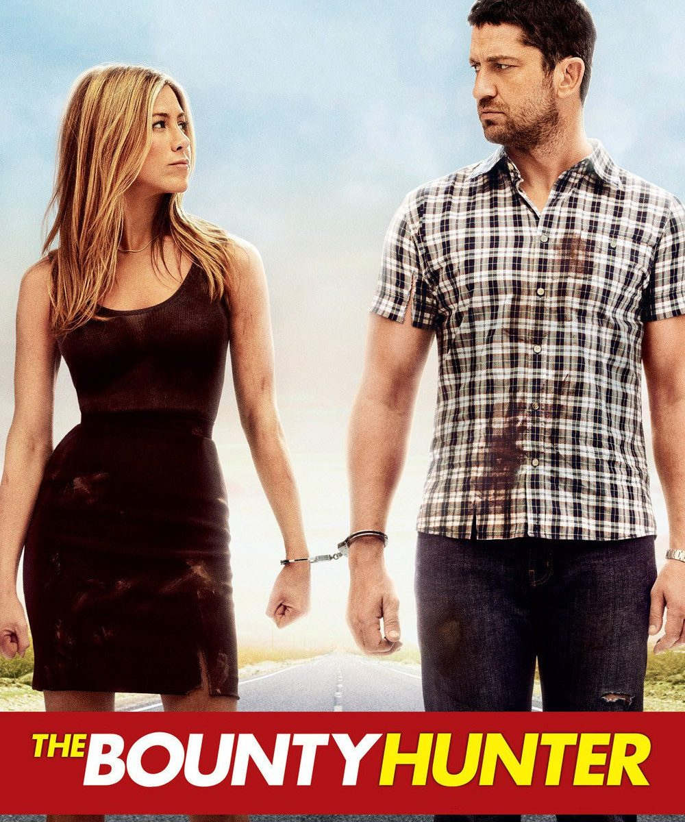 "Poster for the movie ""The Bounty Hunter"""