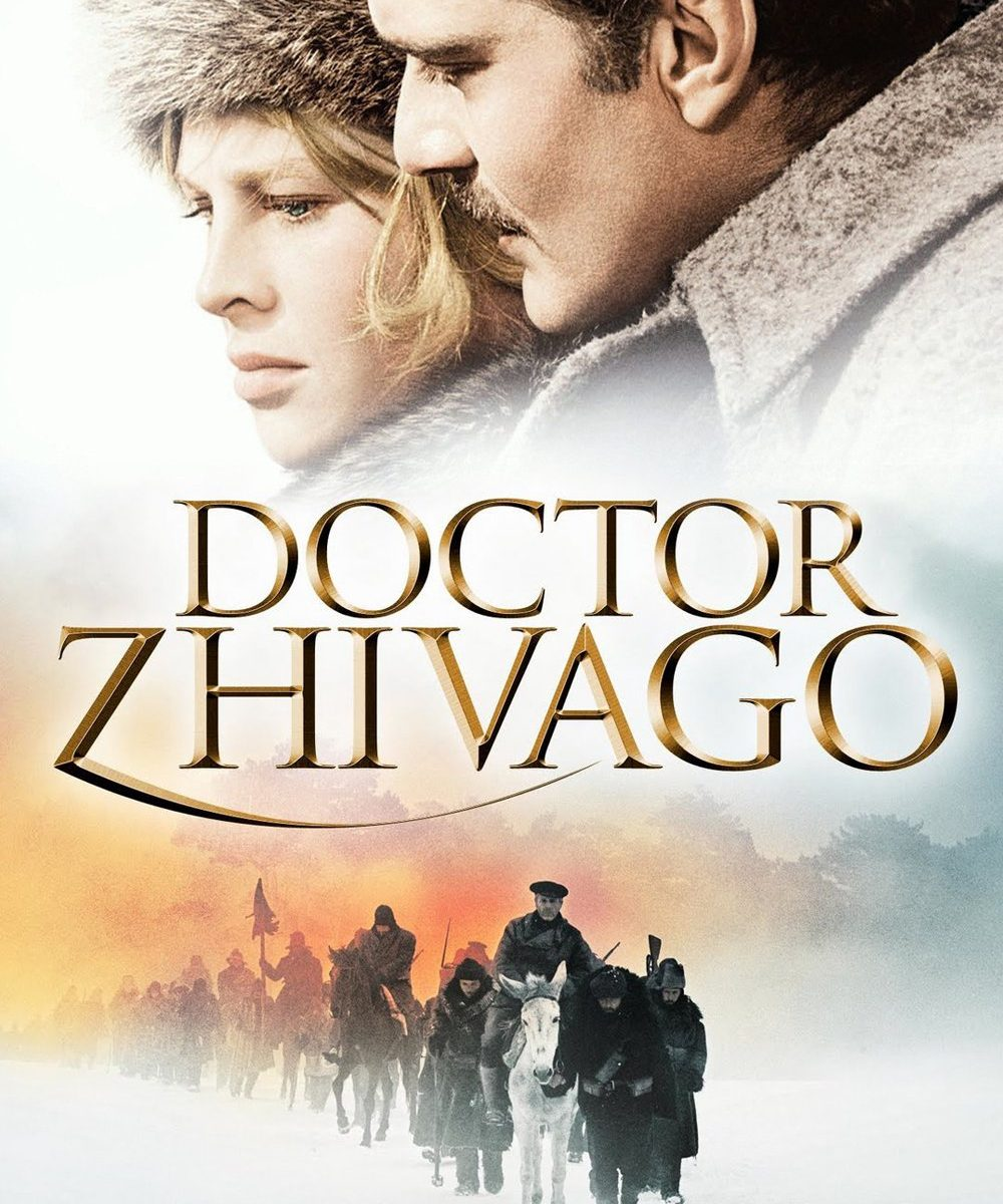 "Poster for the movie ""Doctor Zhivago"""