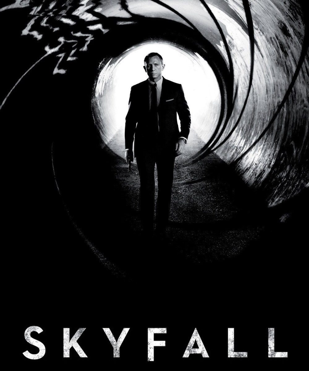 "Poster for the movie ""Skyfall"""