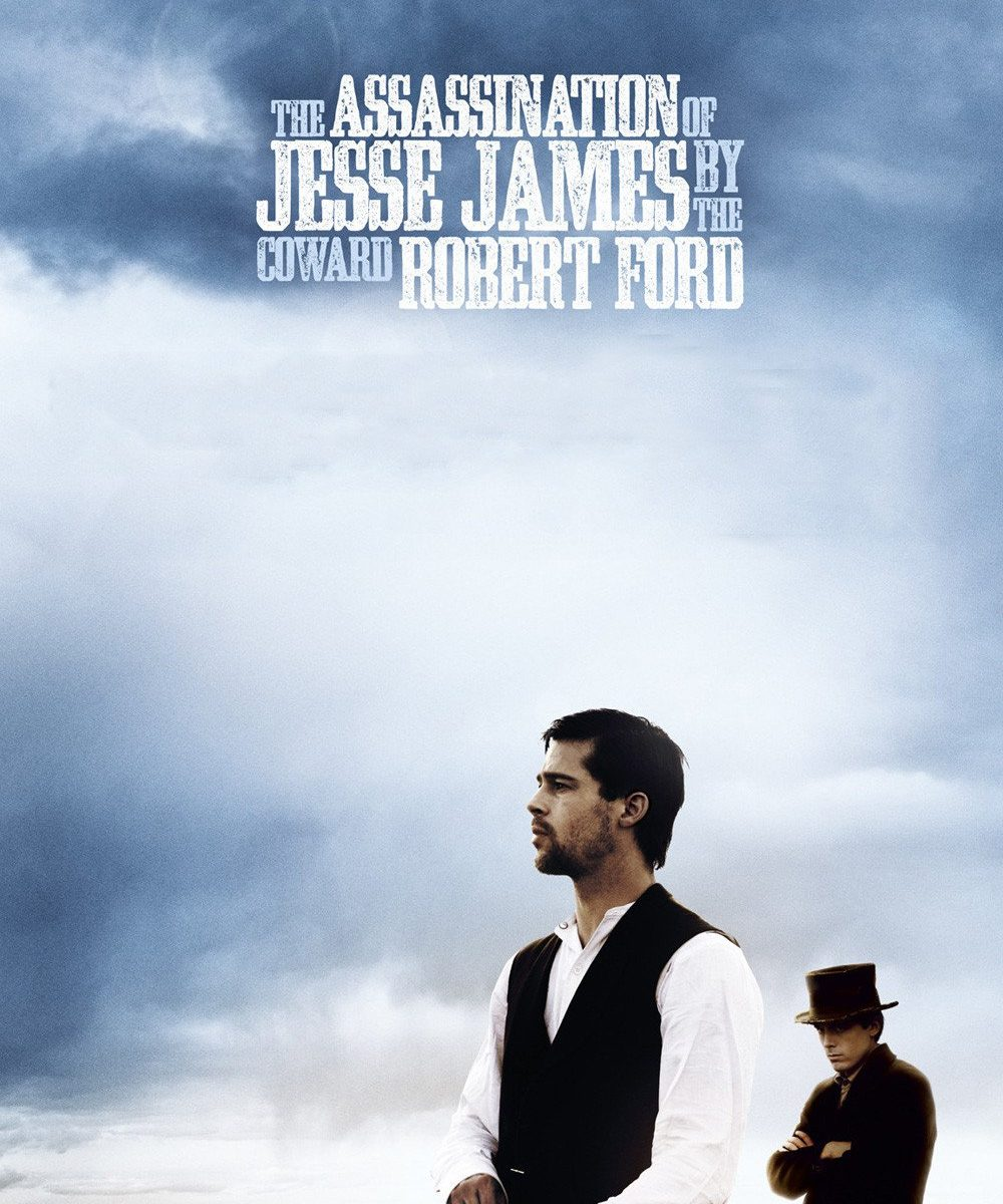 "Poster for the movie ""The Assassination of Jesse James by the Coward Robert Ford"""