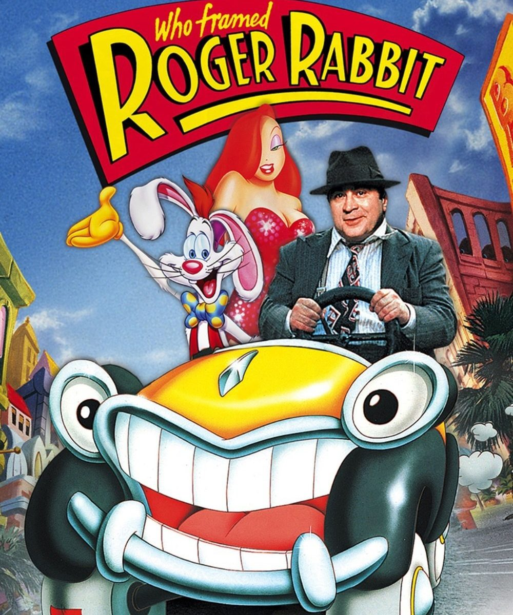 "Poster for the movie ""Who Framed Roger Rabbit [76]"""