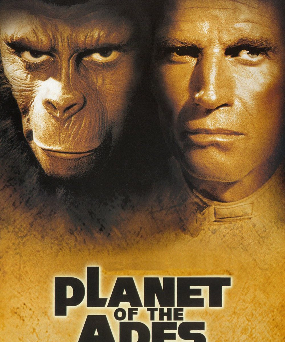 "Poster for the movie ""Planet of the Apes"""