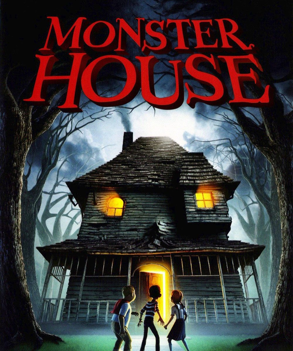 "Poster for the movie ""Monster House"""