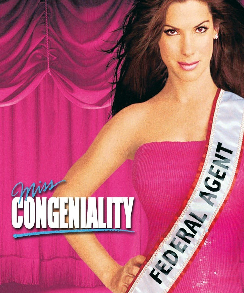 "Poster for the movie ""Miss Congeniality"""