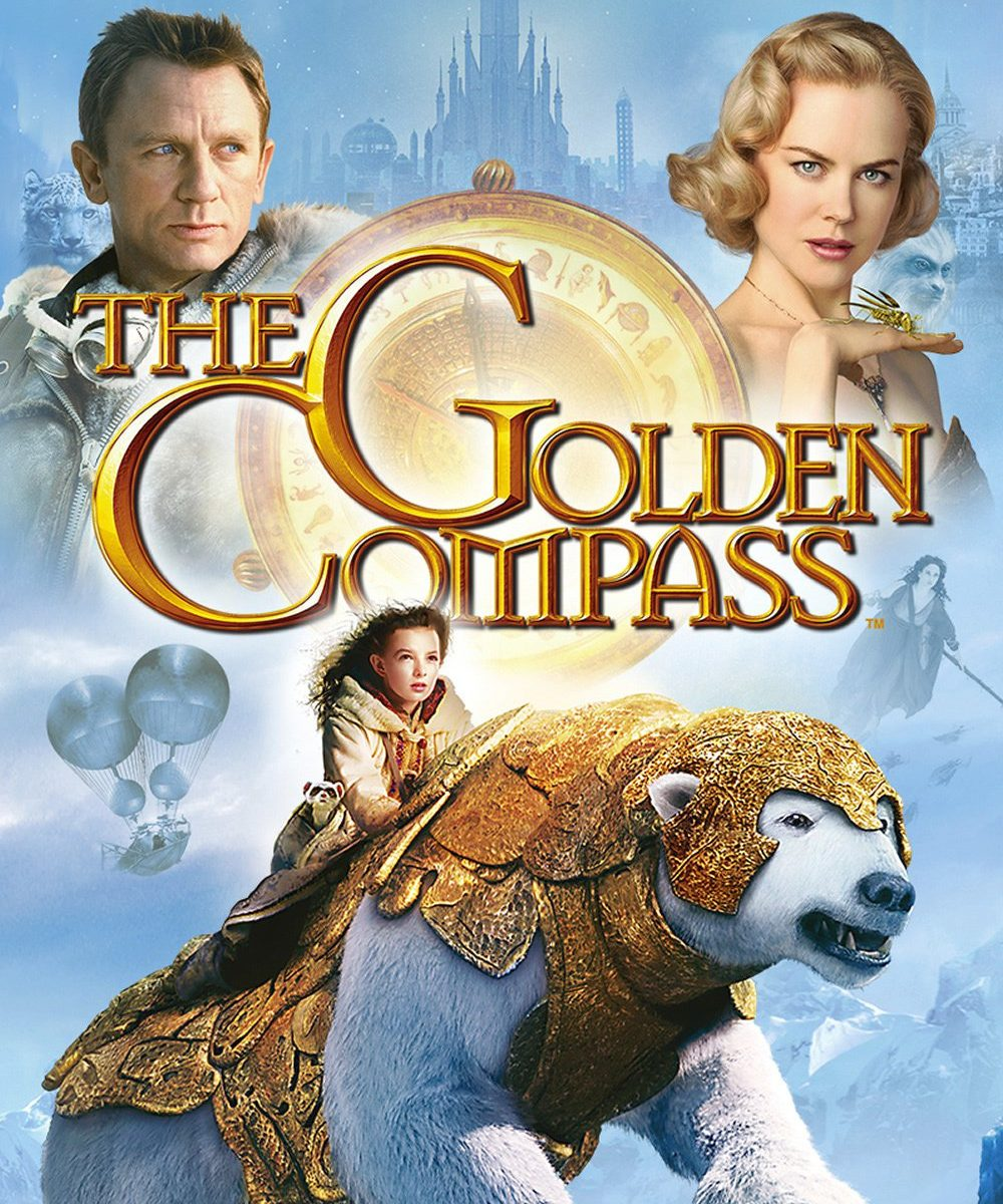 "Poster for the movie ""The Golden Compass"""