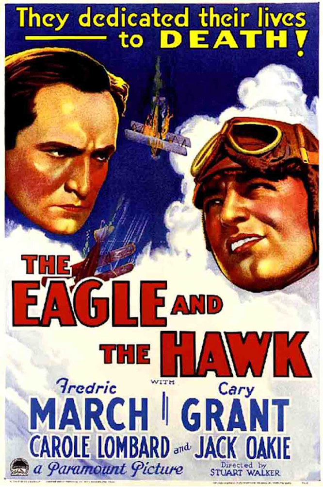 "Poster for the movie ""The Eagle and the Hawk"""