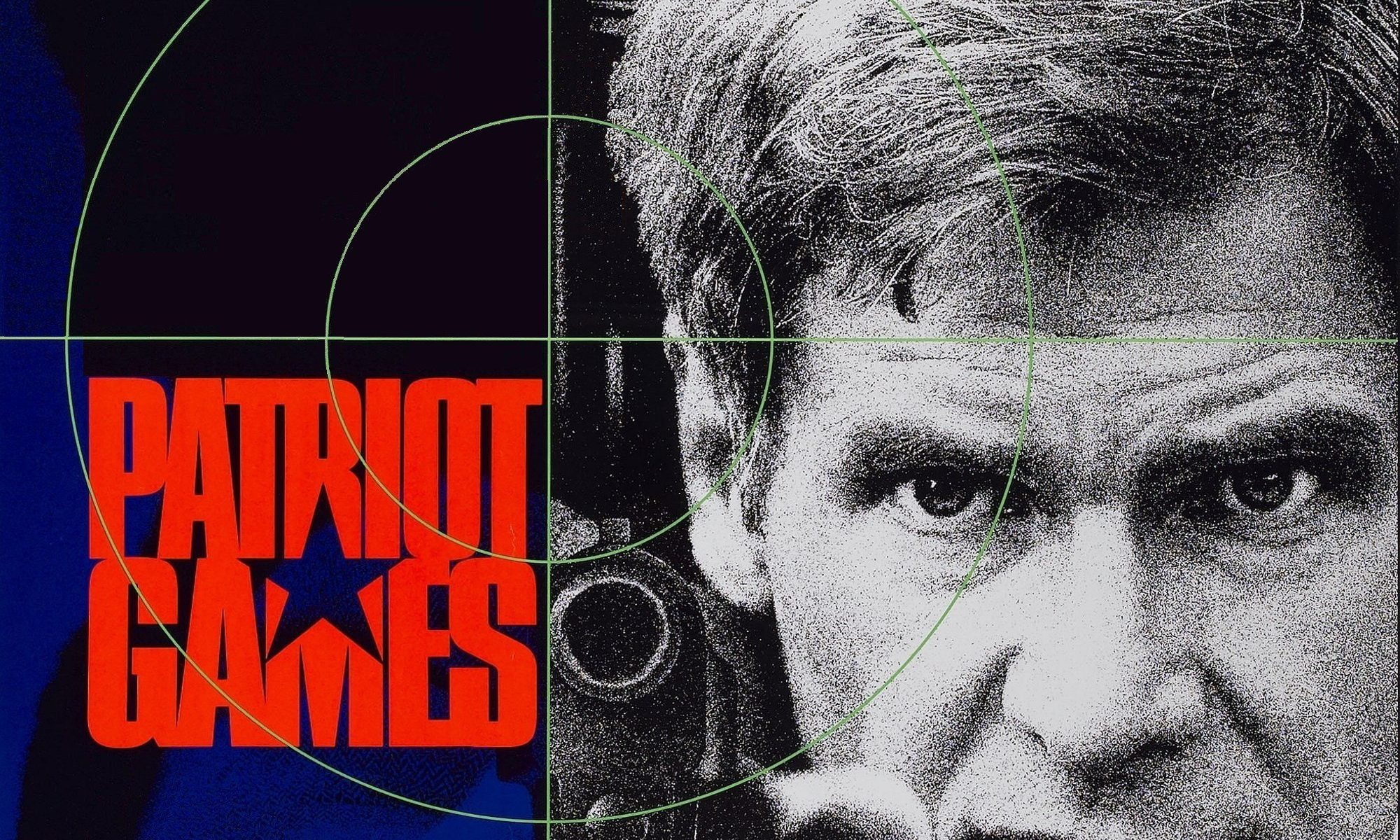 "Poster for the movie ""Patriot Games"""