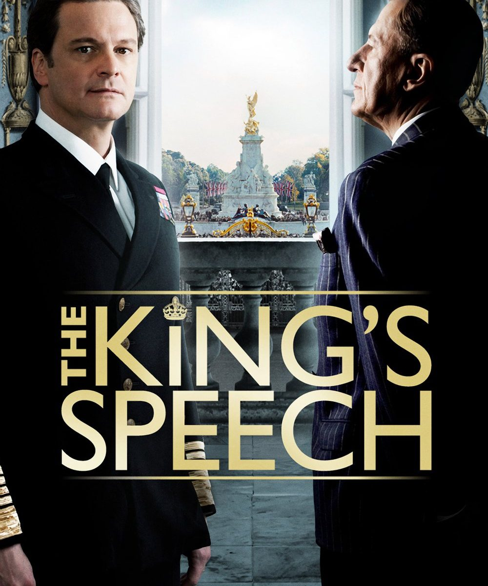 "Poster for the movie ""The King's Speech"""