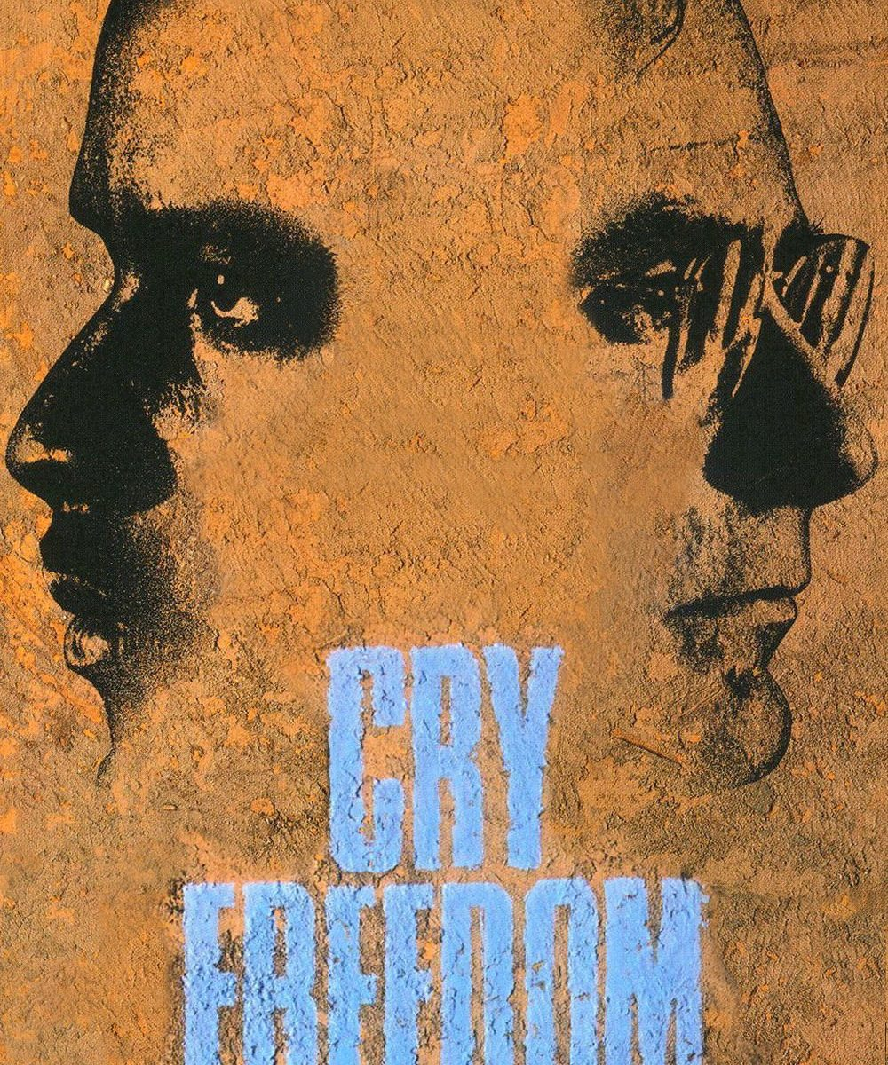 "Poster for the movie ""Cry Freedom"""