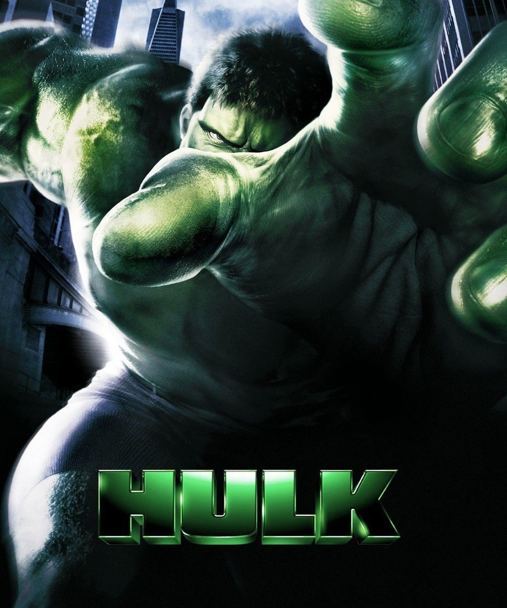"Poster for the movie ""Hulk"""
