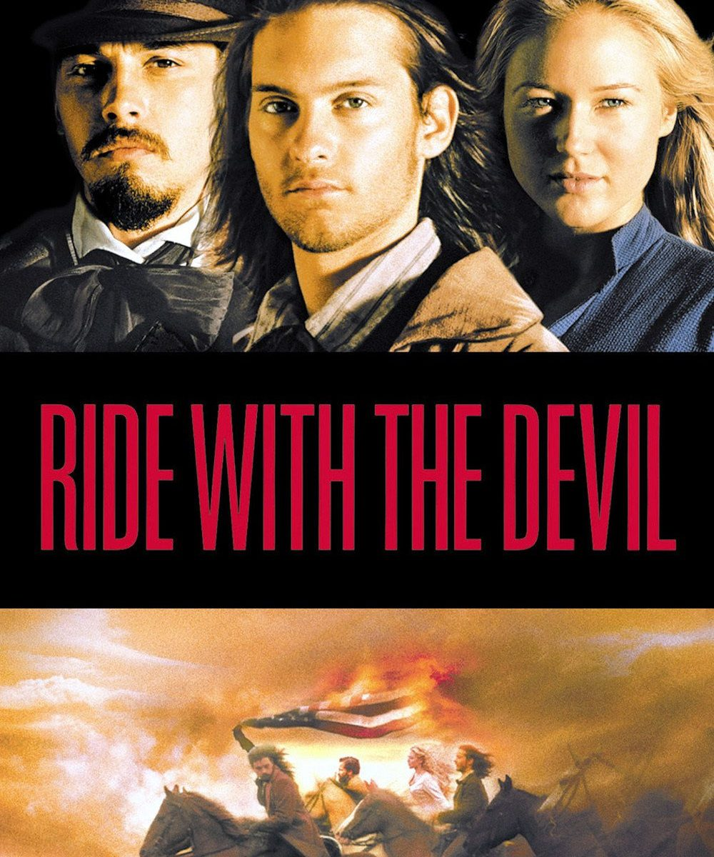 "Poster for the movie ""Ride with the Devil"""