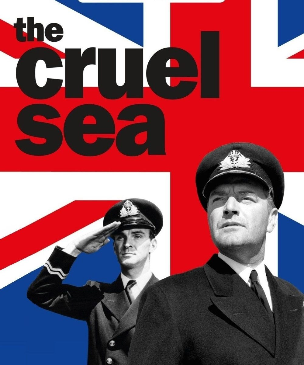 "Poster for the movie ""The Cruel Sea"""
