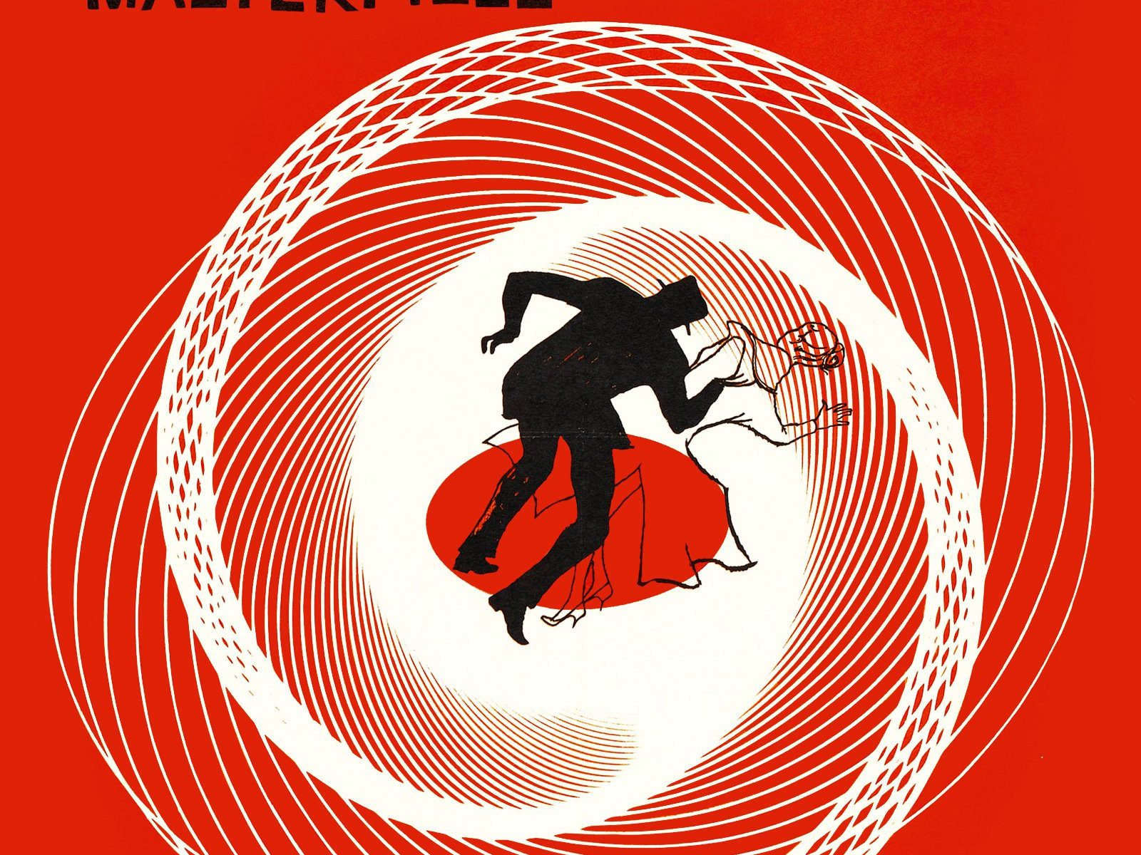 "Poster for the movie ""Vertigo"""