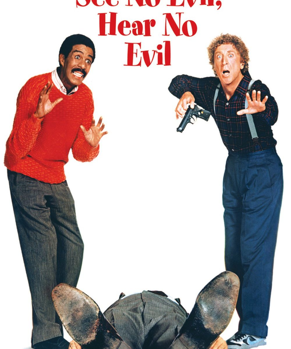 "Poster for the movie ""See No Evil, Hear No Evil"""