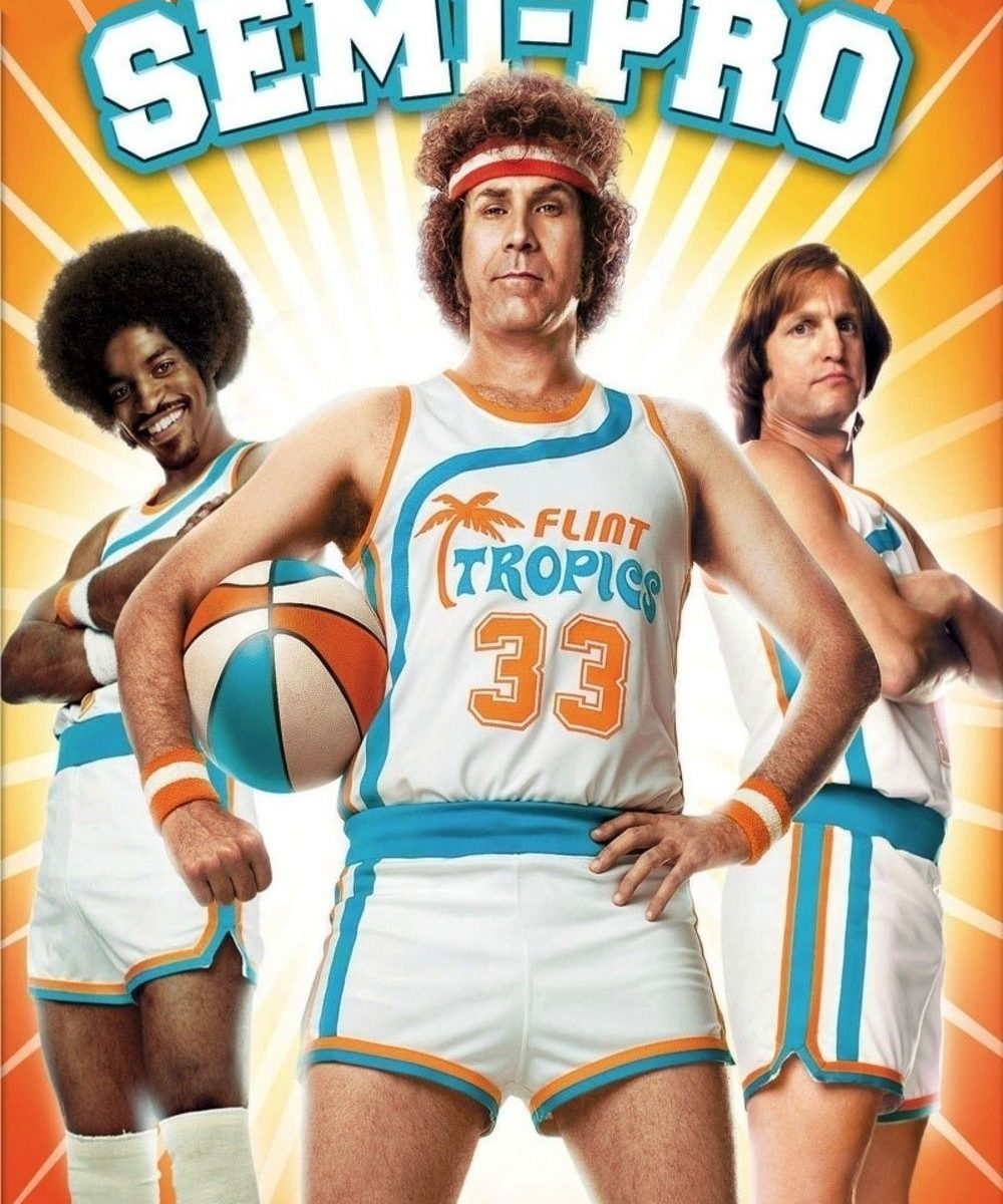 "Poster for the movie ""Semi-Pro"""
