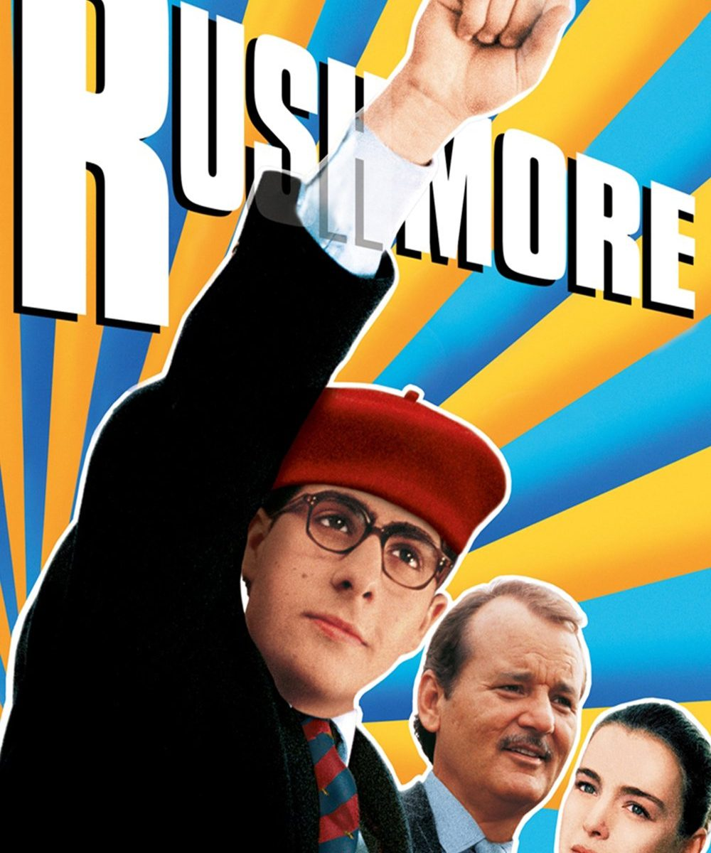 "Poster for the movie ""Rushmore"""