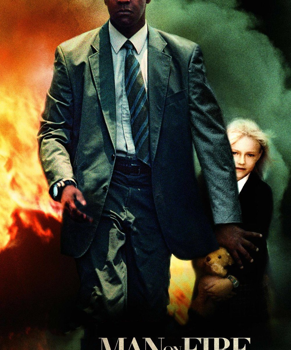 "Poster for the movie ""Man on Fire"""