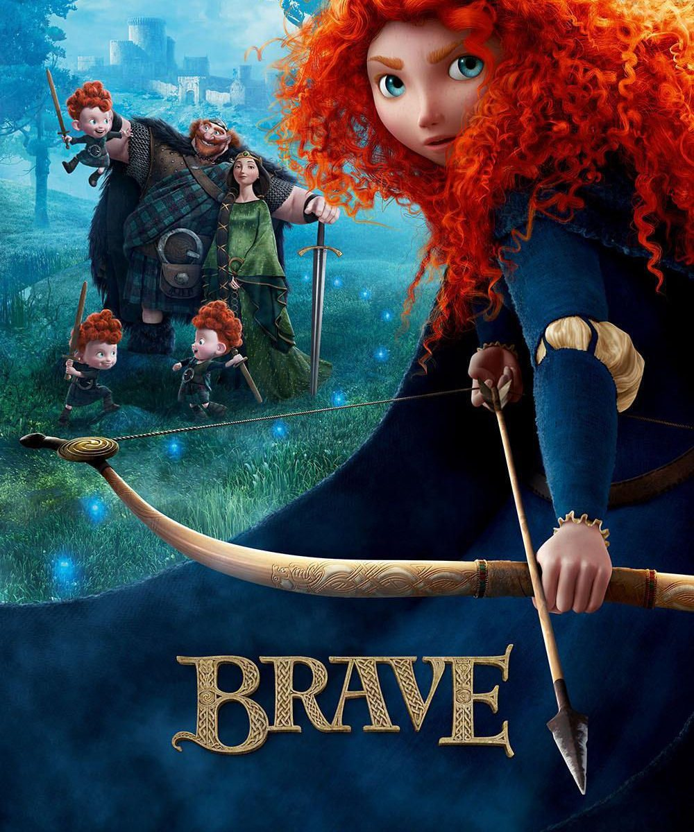 "Poster for the movie ""Brave"""
