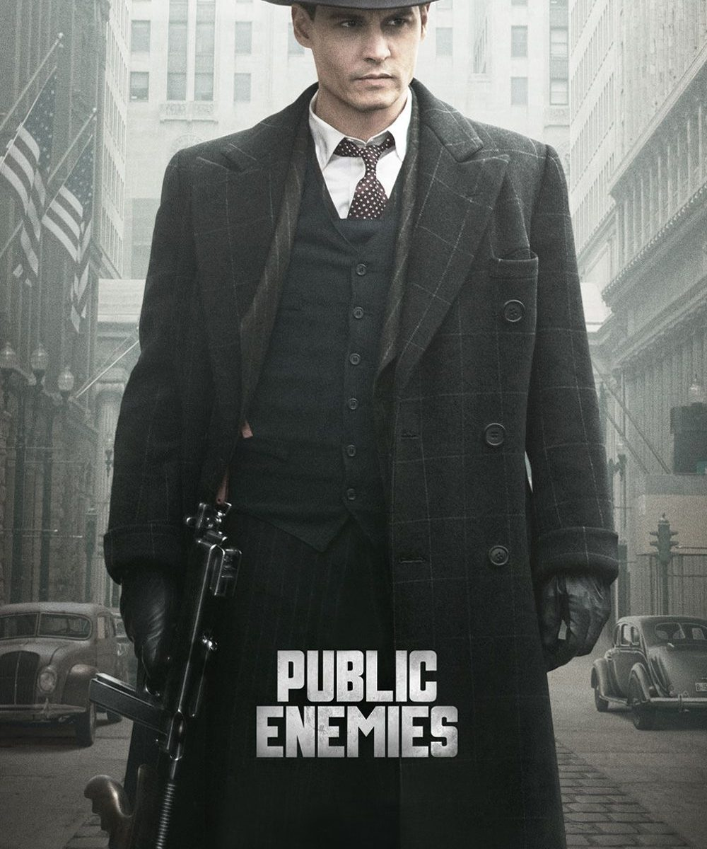 """Poster for the movie """"Public Enemies"""""""