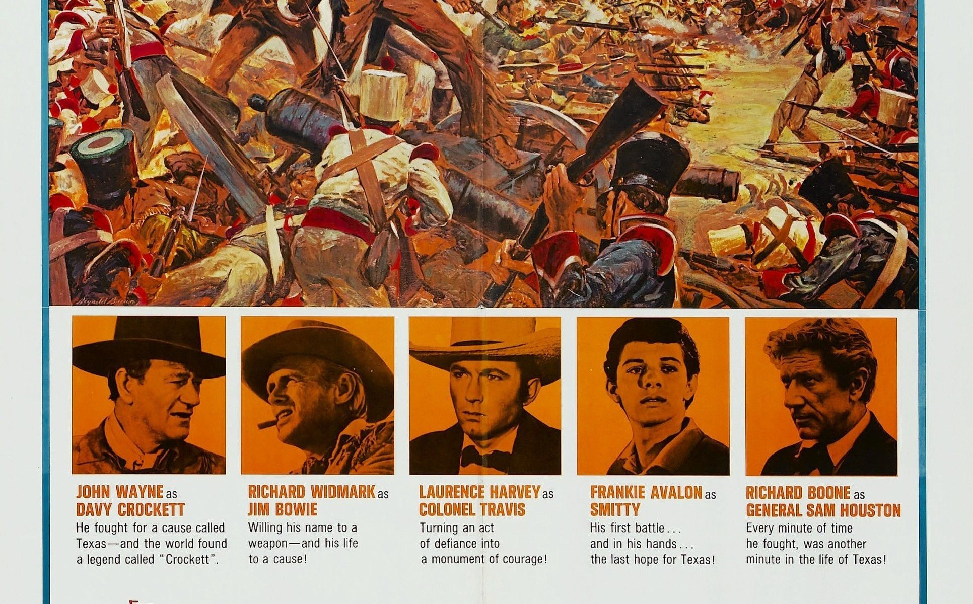 "Poster for the movie ""The Alamo"""