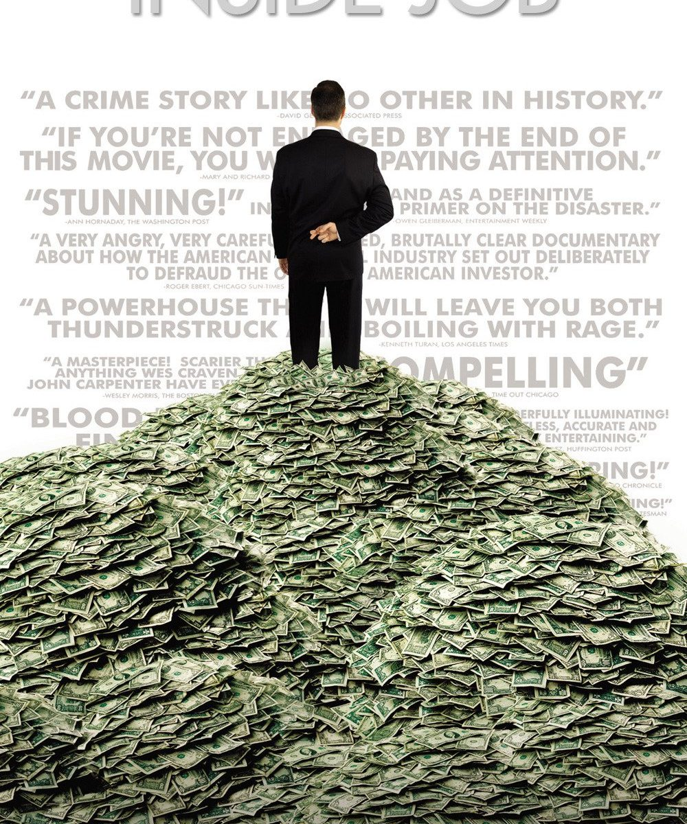 "Poster for the movie ""Inside Job"""
