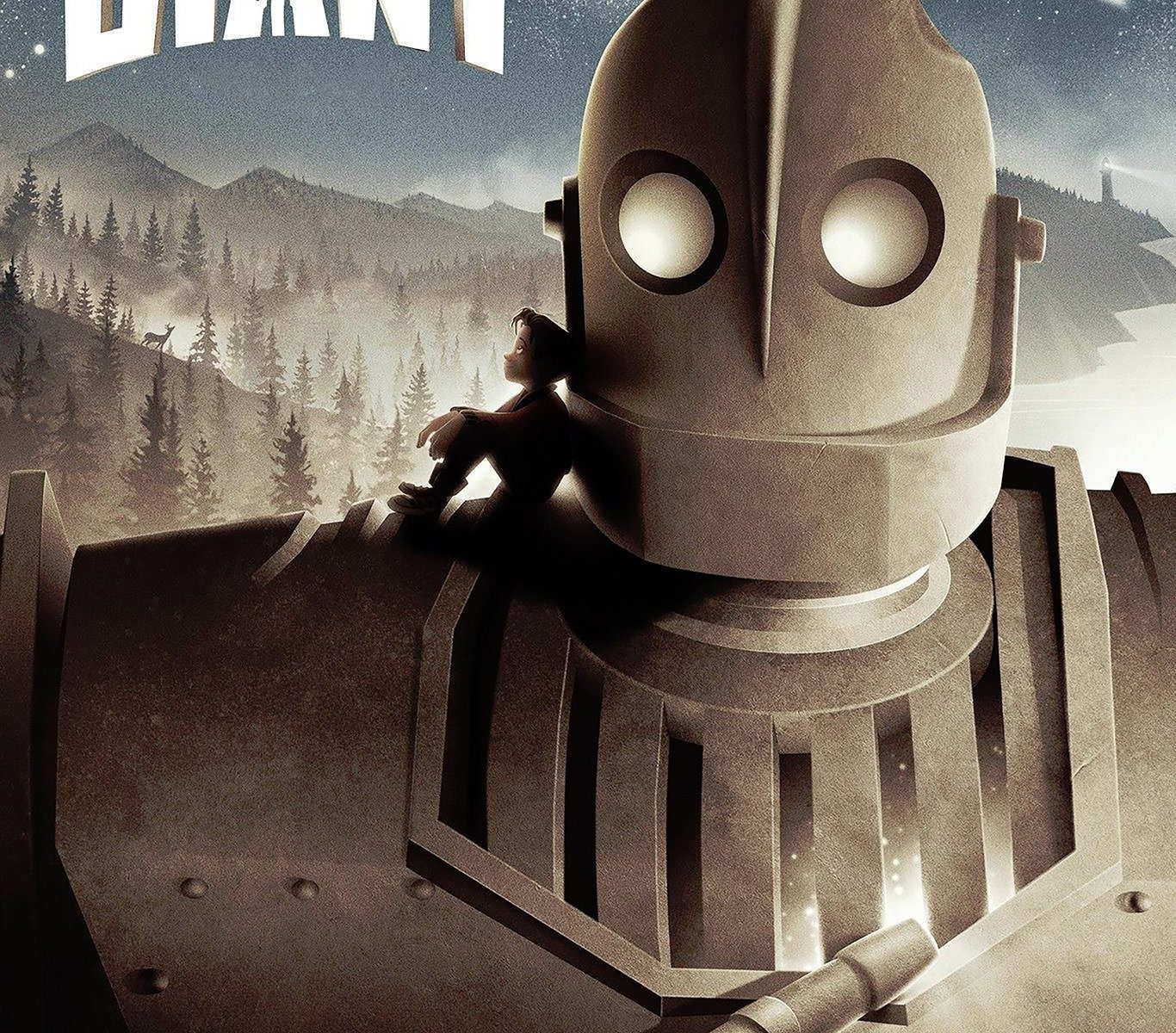 "Poster for the movie ""The Iron Giant"""