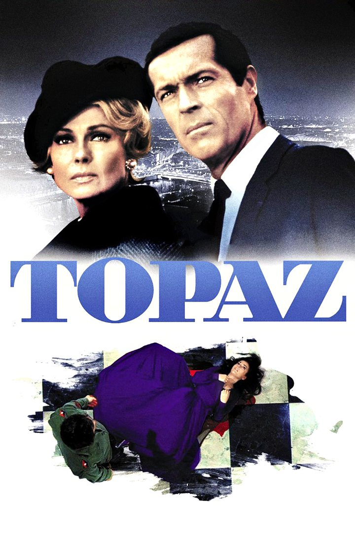 "Poster for the movie ""Topaz"""