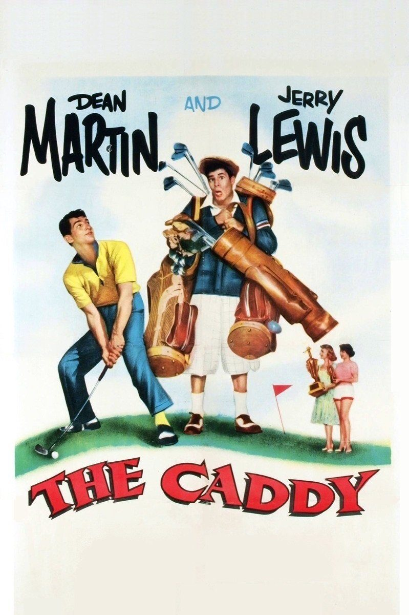 "Poster for the movie ""The Caddy"""