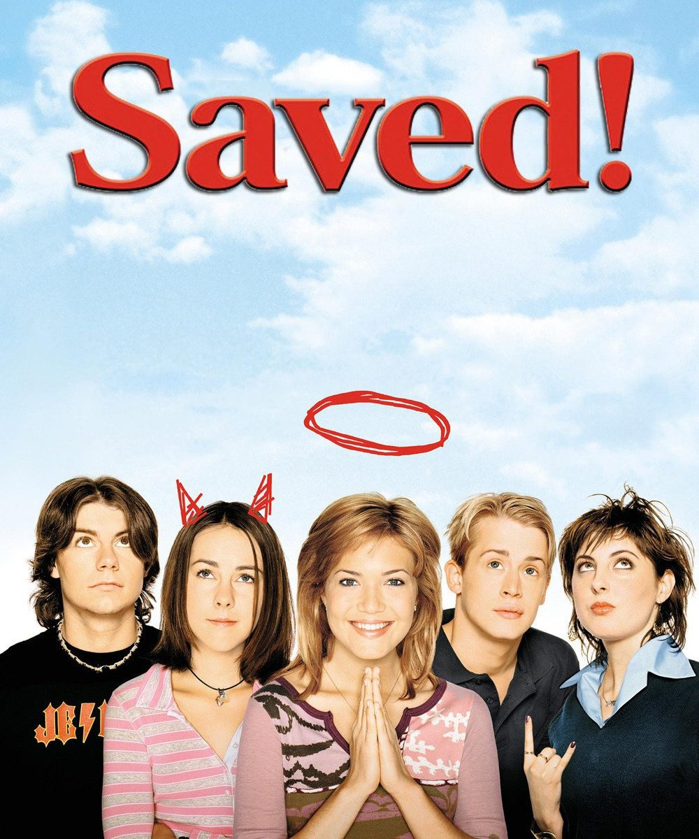 "Poster for the movie ""Saved!"""