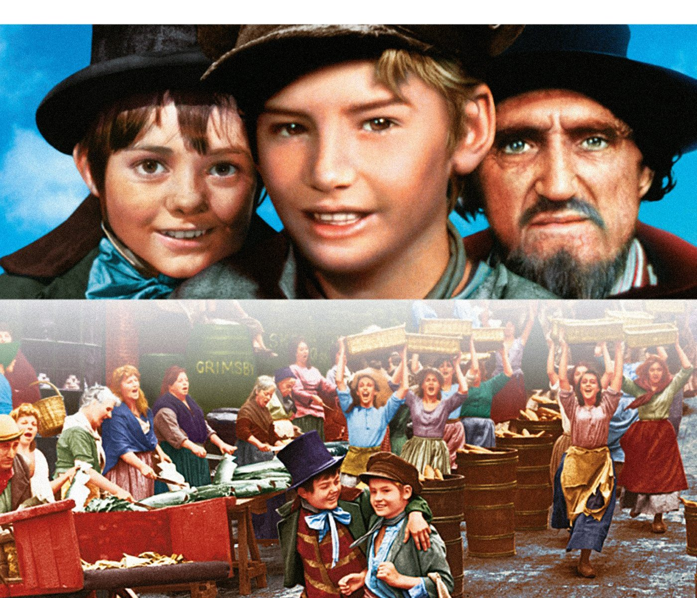 "Poster for the movie ""Oliver!"""