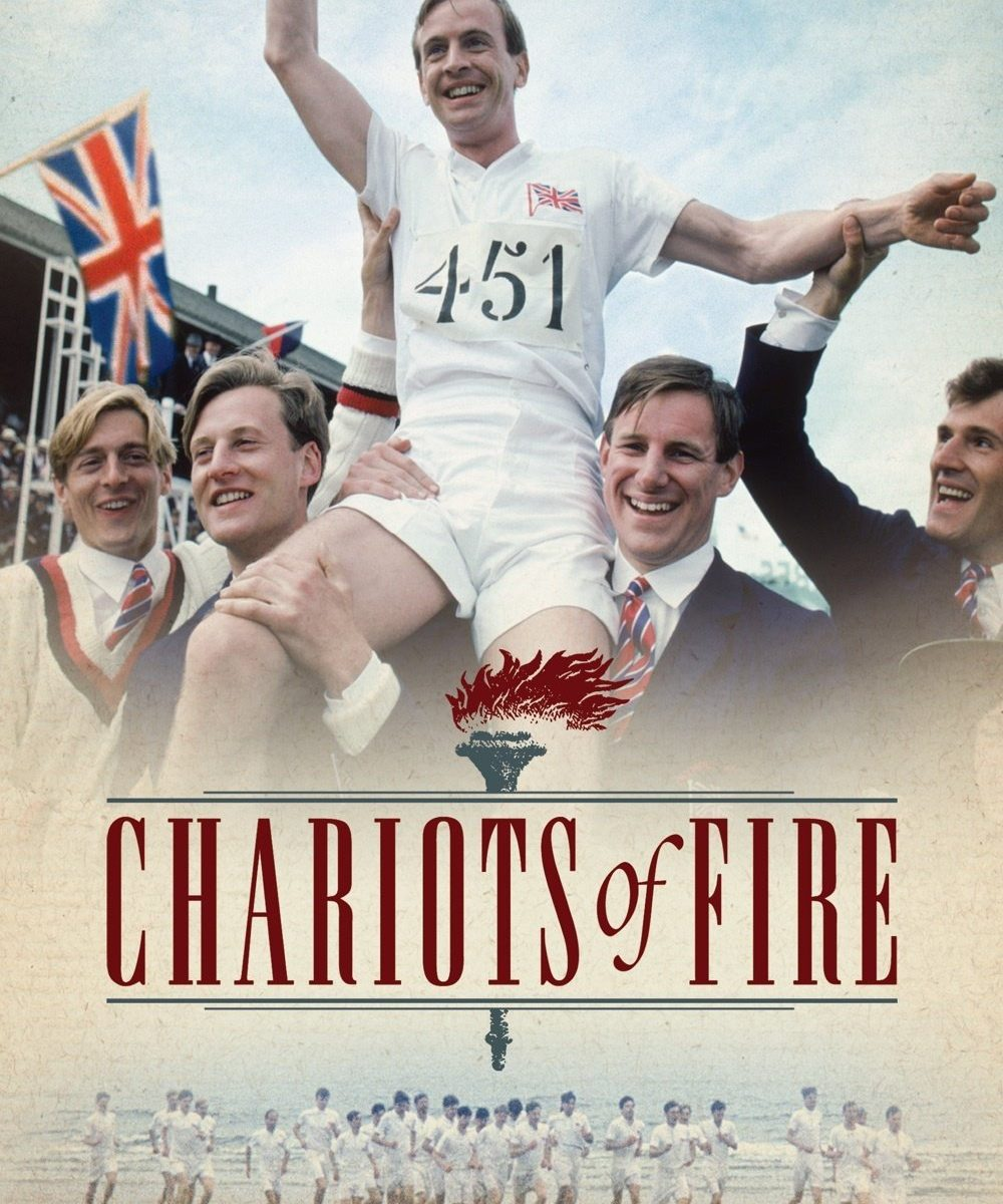 "Poster for the movie ""Chariots of Fire"""