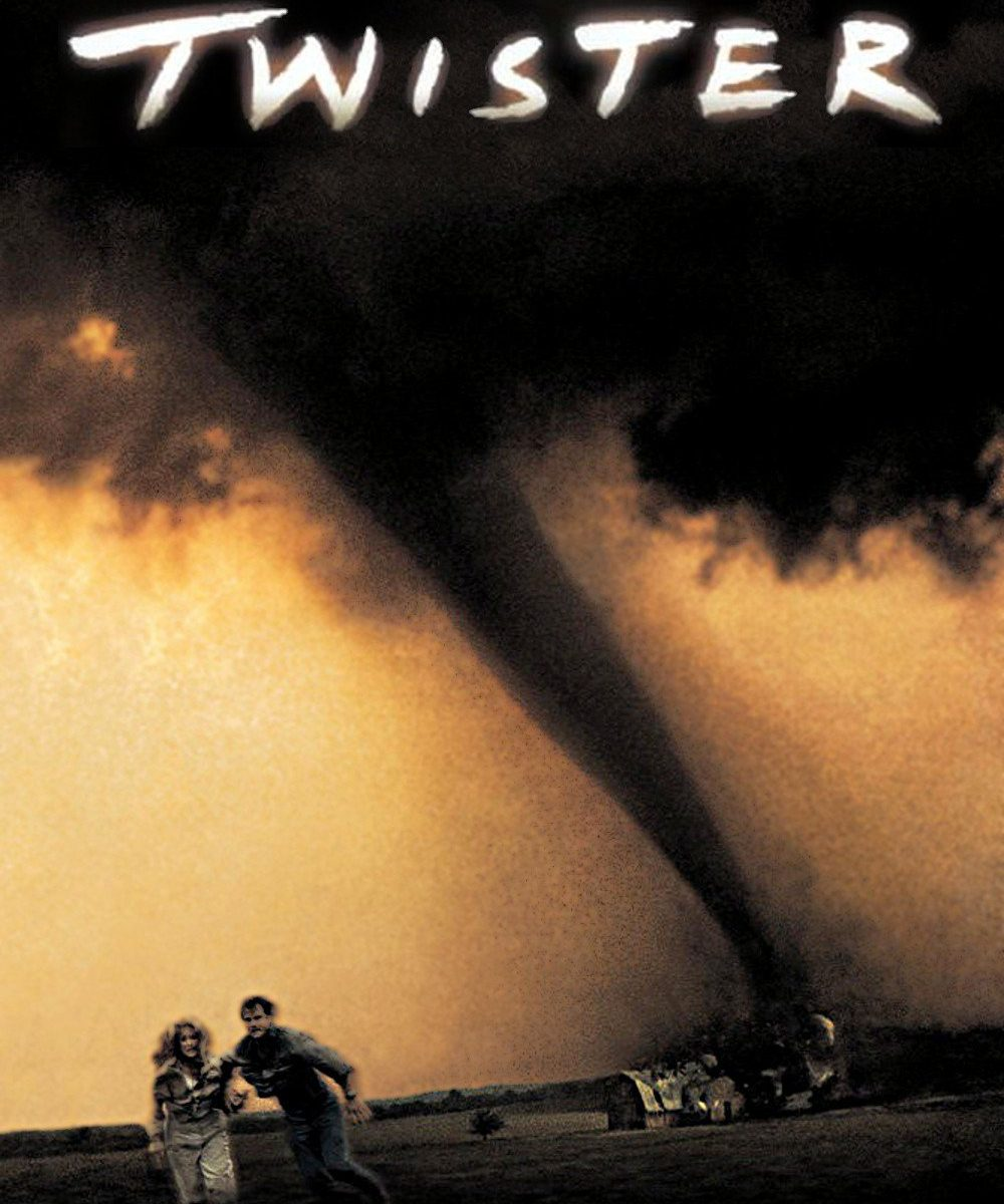 "Poster for the movie ""Twister"""