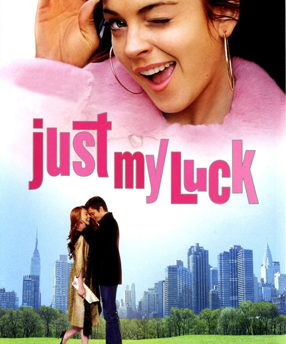 "Poster for the movie ""Just My Luck"""