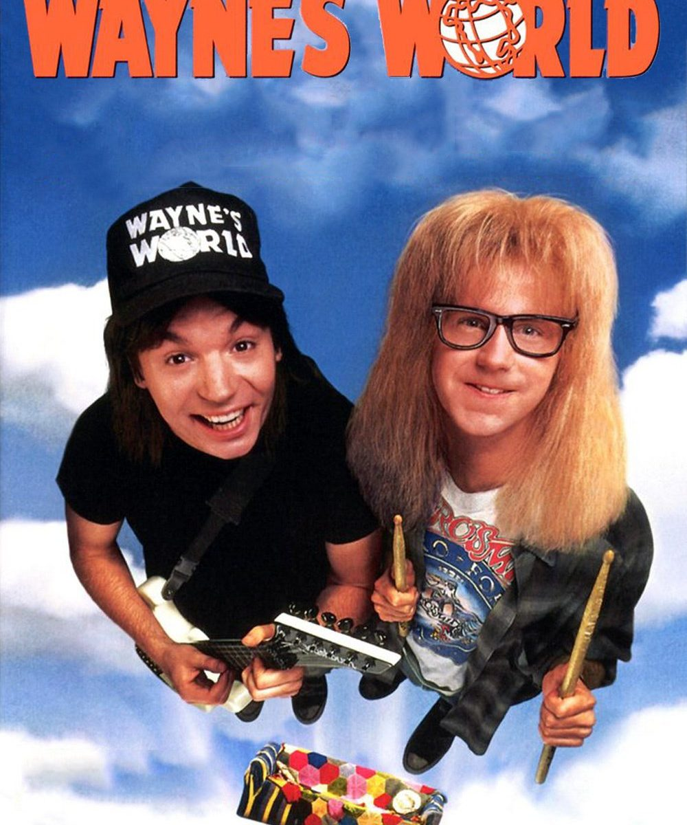 "Poster for the movie ""Wayne's World"""