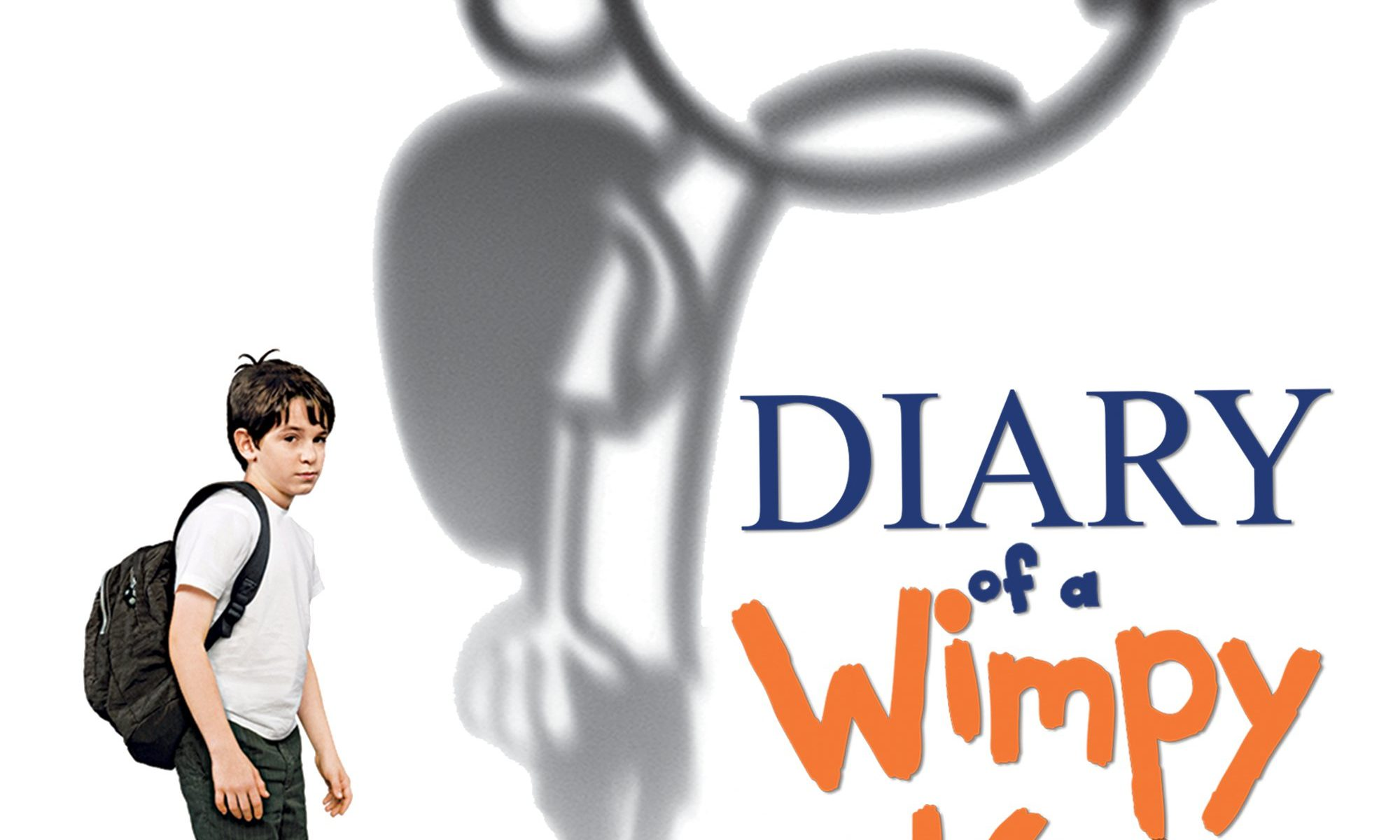 "Poster for the movie ""Diary of a Wimpy Kid"""