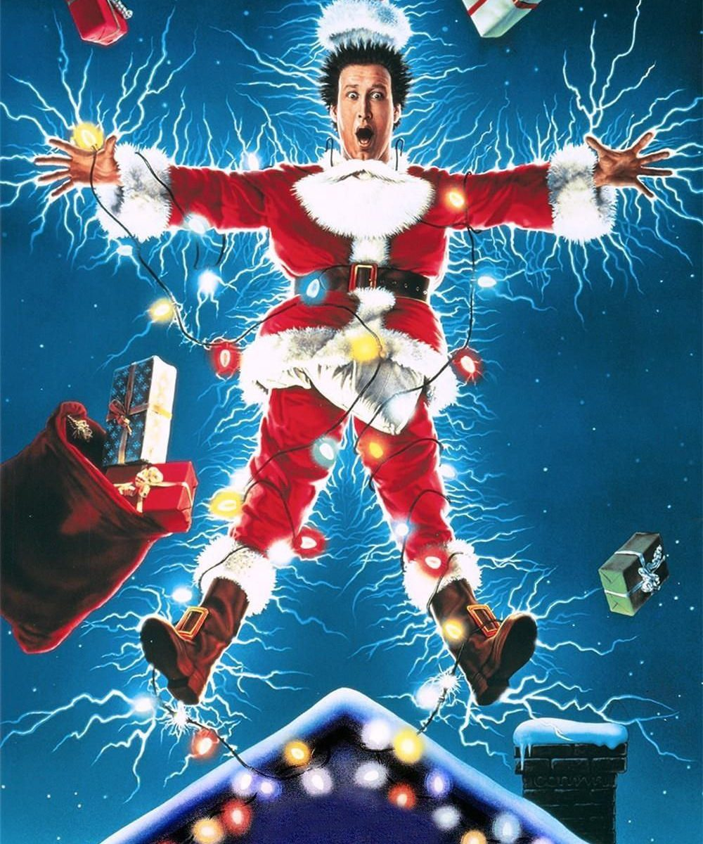 "Poster for the movie ""National Lampoon's Christmas Vacation"""