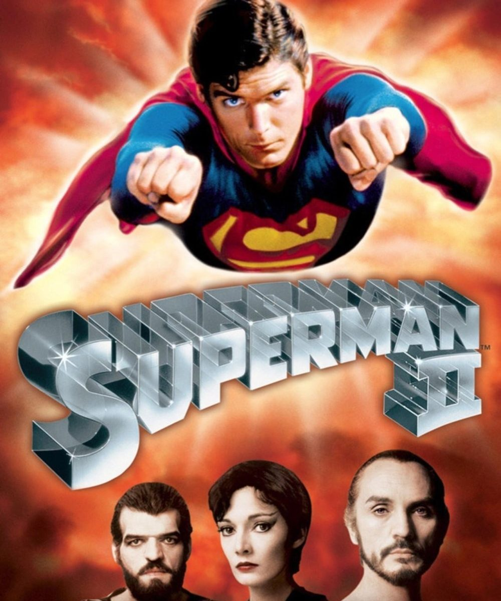 "Poster for the movie ""Superman II"""