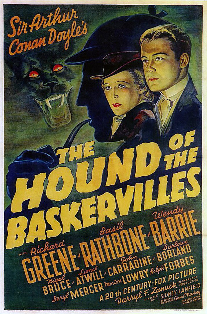 """Poster for the movie """"The Hound of the Baskervilles"""""""