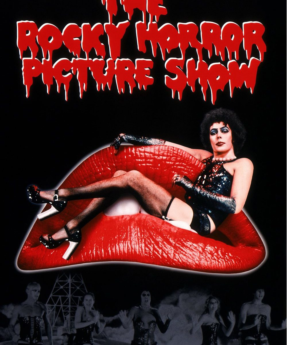 "Poster for the movie ""The Rocky Horror Picture Show"""
