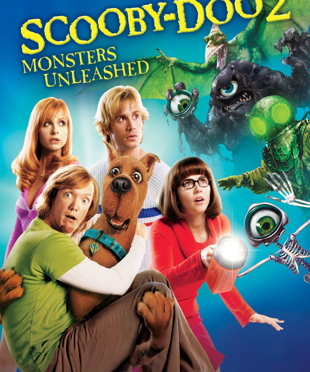 """Poster for the movie """"Scooby-Doo 2: Monsters Unleashed"""""""