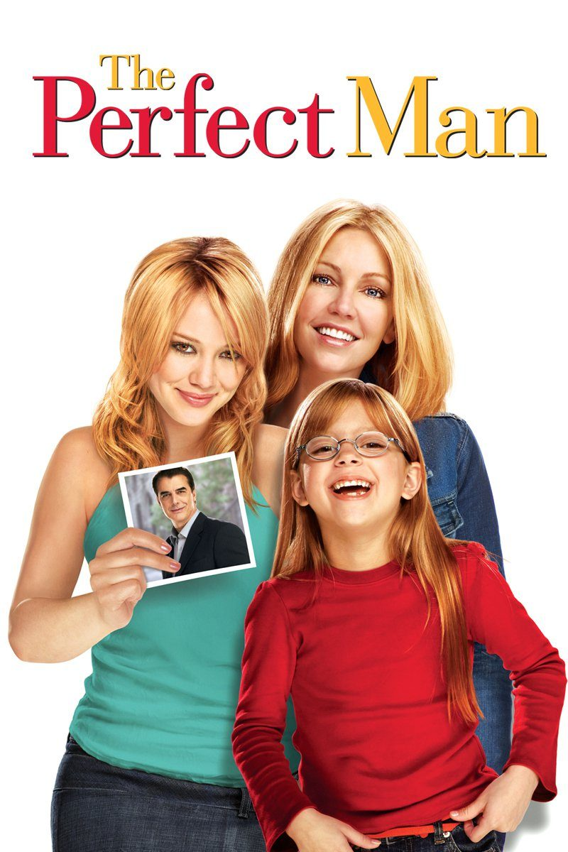 "Poster for the movie ""The Perfect Man"""