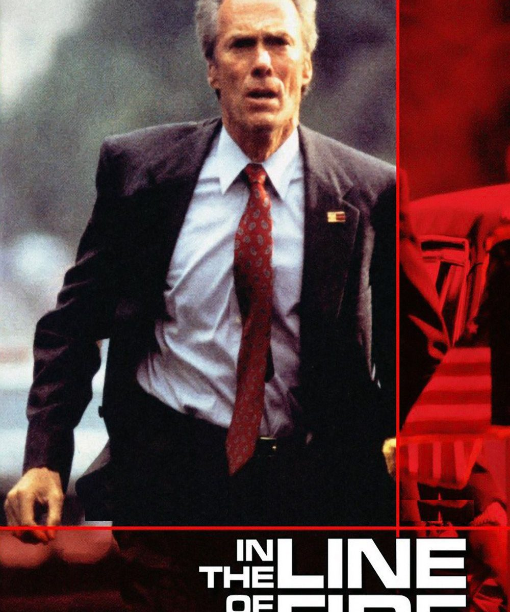 "Poster for the movie ""In the Line of Fire"""