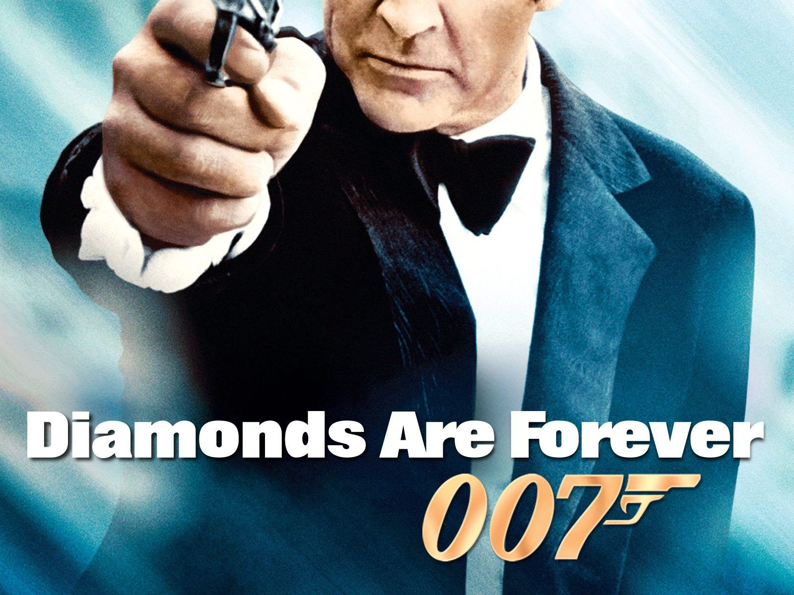 "Poster for the movie ""Diamonds Are Forever"""