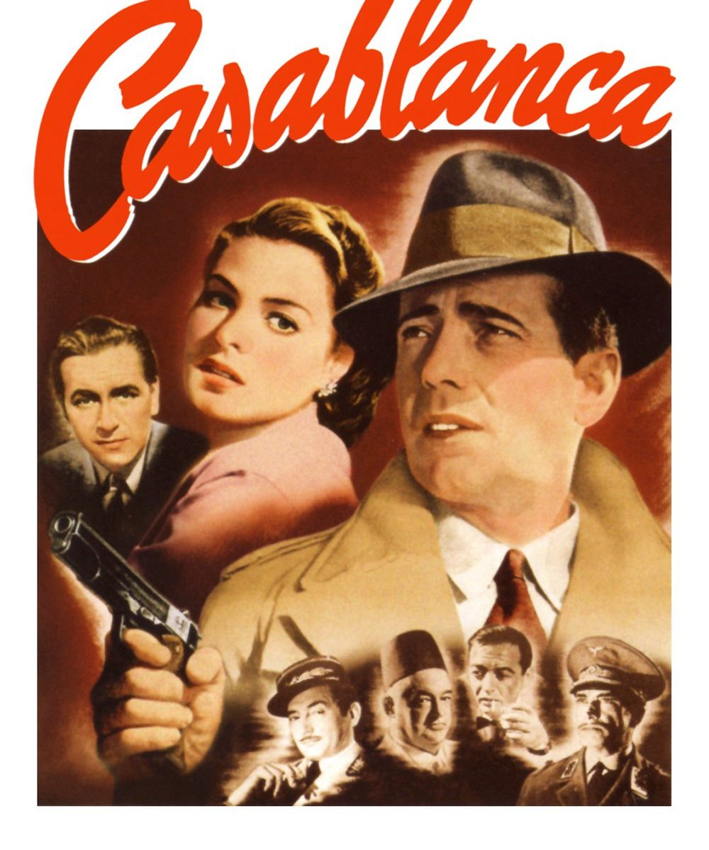 """Poster for the movie """"Casablanca"""""""