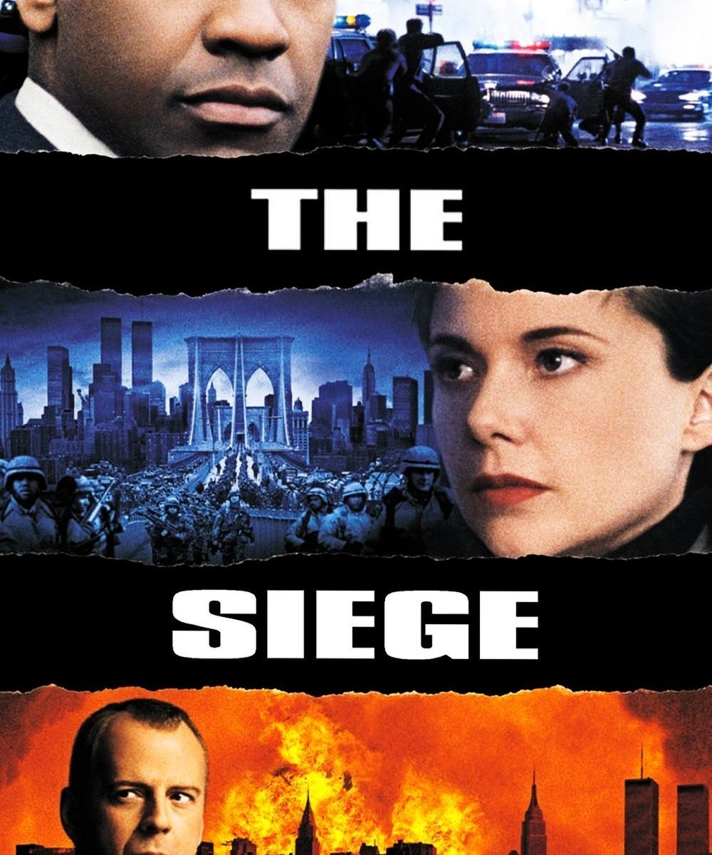 "Poster for the movie ""The Siege"""