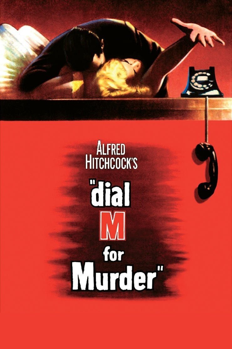 "Poster for the movie ""Dial M for Murder"""