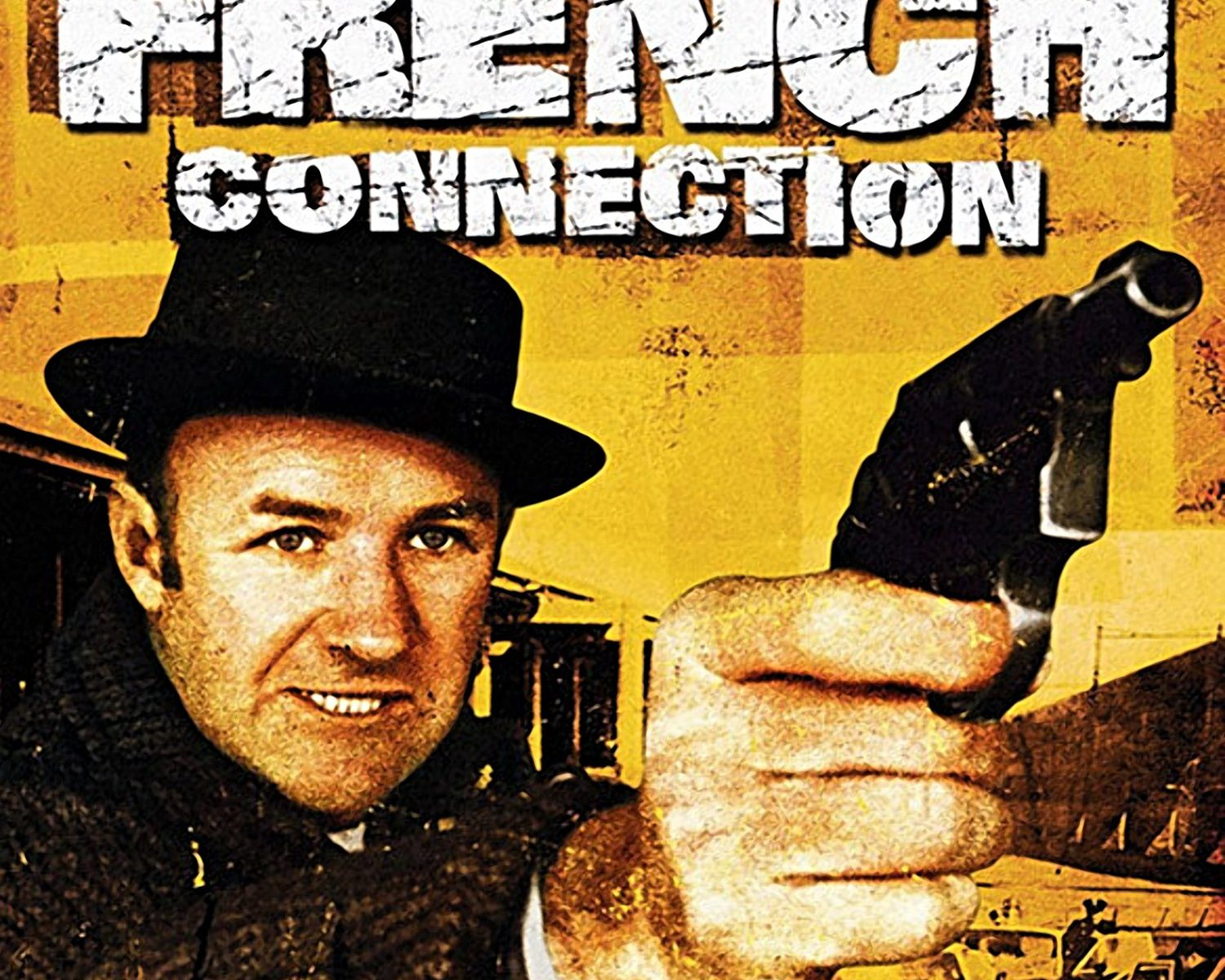 "Poster for the movie ""The French Connection"""