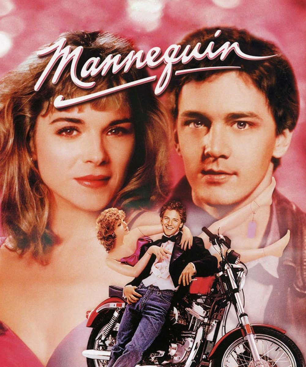 """Poster for the movie """"Mannequin"""""""