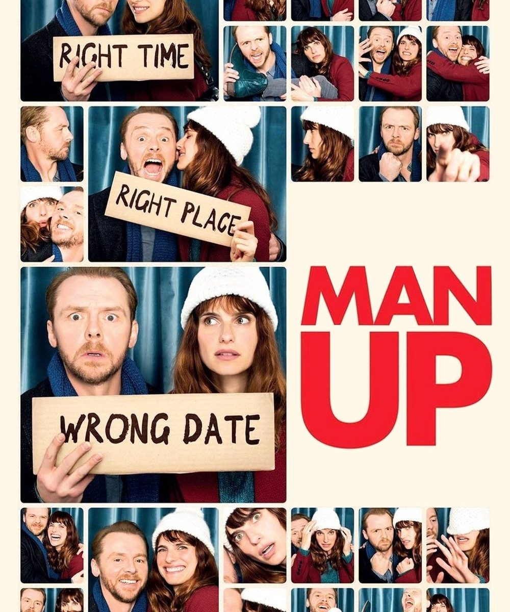 "Poster for the movie ""Man Up"""